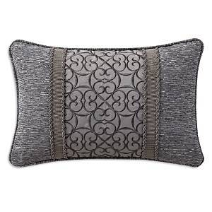 Waterford Carrick Breakfast Pillow, 12 x 18  - Silver/Antique Gold