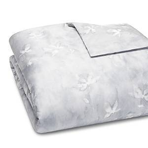 Vera Wang Ghost Floral Percale Duvet Cover, Queen - 100% Exclusive  - Blue Lavender