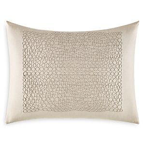 Vera Wang Marbled Center Cording Breakfast Pillow, 12 x 16  - Gray