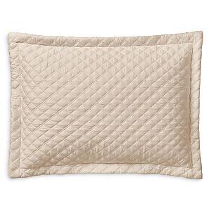 Ralph Lauren Sateen Argyle Decorative Pillow, 12 x 16  - Coastal Sand