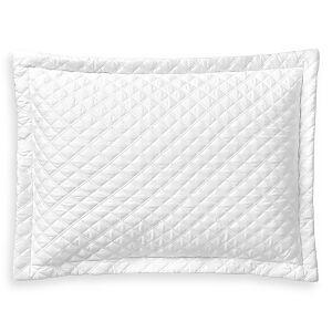 Ralph Lauren Sateen Argyle Decorative Pillow, 12 x 16  - Studio White