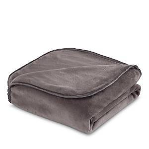 Vellux Heavy Weight 12-Pound Weighted Throw  - Charcoal Gray