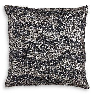 Donna Karan Sapphire Collection Decorative Pillow, 12 x 12  - Indigo