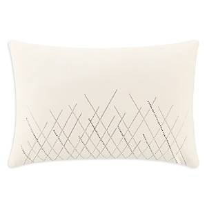 Waterford Andria Beaded Pillow, 12 x 18  - Taupe