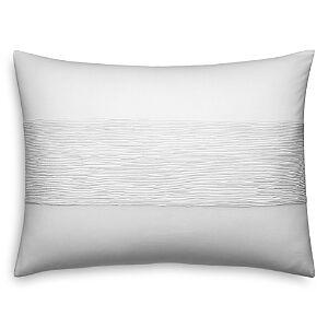Vera Wang Banded Horizontal Decorative Pillow, 15 x 20 - 100% Exclusive  - White