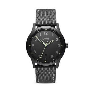 Mvmt Field Canvas Strap Watch, 41mm  - Male - Black