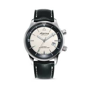 Alpina Seastrong Diver Heritage Automatic Watch, 42mm  - Male - Cream/Black