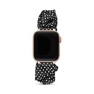 kate spade new york Apple Watch Black Fabric Strap  - Female - Multi