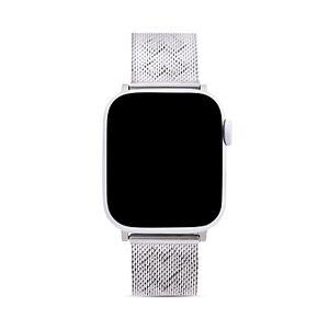 Rebecca Minkoff Apple Watch Gold-Tone Heart-Pressed Mesh Bracelet, 38mm & 40mm  - Female - Silver