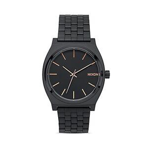 Nixon Time Teller Watch, 37 mm  - Unisex - Black