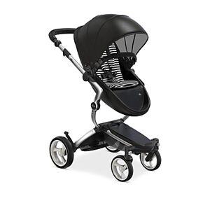 Mima Xari Stroller with Aluminum Chassis  - Unisex - Black/White