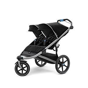 Thule Urban Glide 2 Double Stroller  - Unisex - Black/Silver
