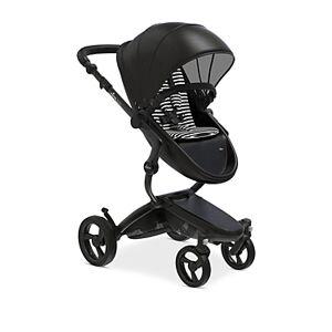 Mima Xari Stroller with Black Chassis  - Unisex - Black/White