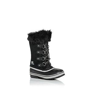 Sorel Unisex Joan of Arctic Suede Cold-Weather Boots - Little Kid, Big Kid  - Unisex - Black - Size: 5C (Big Kid)