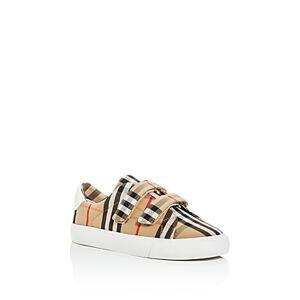 Burberry Unisex Markham Vintage Check Low-Top Sneakers - Toddler, Little Kid  - Unisex - Archive Beige - Size: 31C EU / 13C US (Little Kid)