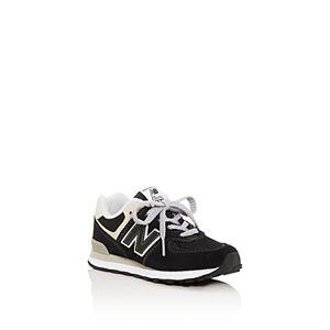 New Balance Unisex 574 Low-Top Sneakers - Toddler, Little Kid  - Unisex - Black/gray - Size: 13C (Little Kid)