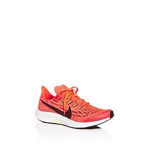 Nike Unisex Air Zoom Pegasus Low-Top Sneakers - Big Kid  - Male - Laser Crimson/black/bright Cactus/white - Size: 6C (Big Kid)