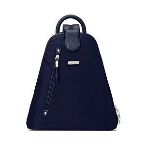 Baggallini New Classic Metro Backpack with Rfid Phone Wristlet  - Unisex - Navy