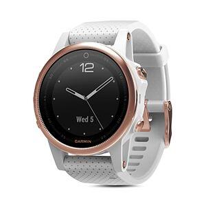 Garmin fenix5S Sapphire Premium Multisport Gps White Smartwatch, 42mm  - Unisex - White