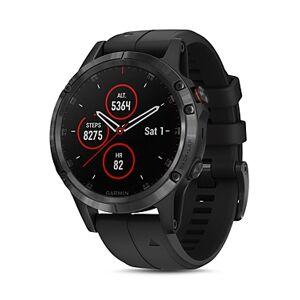 Garmin fenix 5 Plus Sapphire Premium Multisport Gps Smartwatch, 47mm