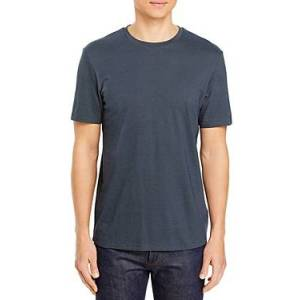 Theory Gamma Jacquard Clean Tee  - Male - Space/Ivory - Size: Small