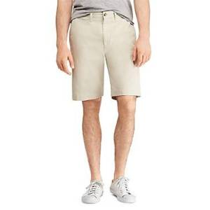 Ralph Lauren Polo Ralph Lauren Relaxed Fit Chino Shorts  - Male - Beige - Size: 38