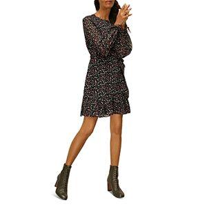Whistles Shoe Print Dress  - Female - Multi Colour - Size: 18