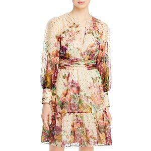 Kobi Halperin Bloomingdale's Pauline Floral Dress - 100% Exclusive  - Female - Ivory Multi - Size: Small