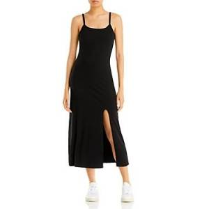 Aqua Sleeveless Midi Dress - 100% Exclusive  - Female - Black - Size: Large