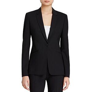 Boss Jabina Fundamental Blazer  - Female - Black - Size: 6