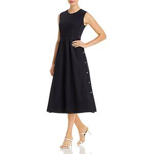 Max Mara Lindsey Midi Dress  - Female - Ultramarine - Size: 14