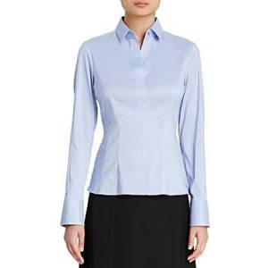 Boss Bashina Blouse  - Female - Light Blue - Size: 10