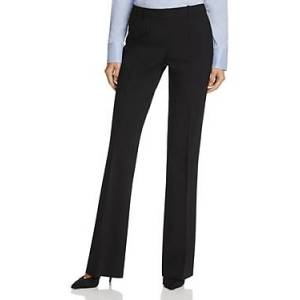 Boss Tulea Fundamental Flare Pants  - Female - Black - Size: 14