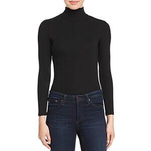 N:philanthropy n Philanthropy Brooke Turtleneck Bodysuit  - Female - Black Cat - Size: Small