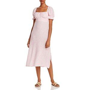 Faithfull the Brand Evelyn Printed Midi Dress