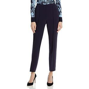 Boss Tahwena Straight Leg Trousers  - Female - Midnight - Size: 0
