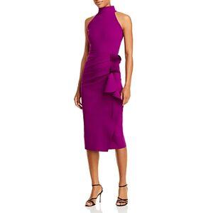 Chiara Boni La Petite Robe Gudrum Ruffled Sheath Dress - 100% Exclusive  - Female - Radicchio - Size: 16