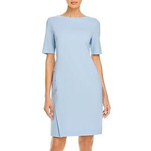 Boss Diwoma Sheath Dress  - Female - Light Blue - Size: 8