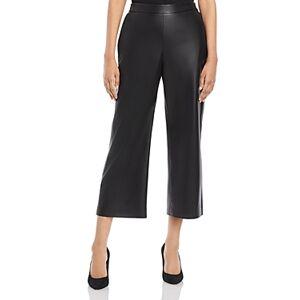 Boss Taomie Vegan Leather Pants  - Female - Black - Size: 2