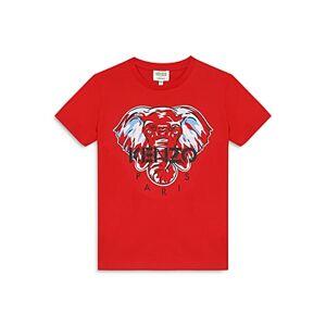 Kenzo Boys' Elephant Tee - Big Kid  - Male - Red - Size: 10
