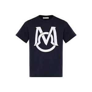 Moncler Boys' Maglia Cotton Tee - Little Kid  - Male - Navy - Size: 6