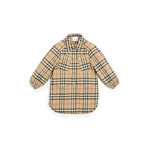 Burberry Girls' Teigen Vintage Check Shirt Dress - Little Kid, Big Kid  - Female - Archive Beige - Size: 3