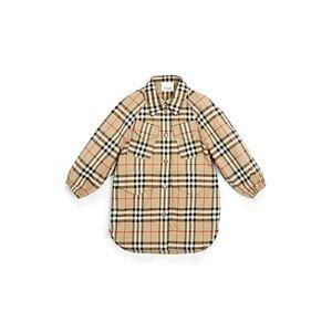 Burberry Girls' Teigen Vintage Check Shirt Dress - Little Kid, Big Kid  - Female - Archive Beige - Size: 8