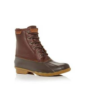 Sperry Men's Saltwater Duck Boots  - Male - Tan/Brown - Size: 11.5