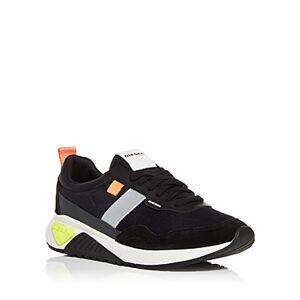 Diesel Men's S-kb Low Top Sneakers  - Male - Black - Size: 7