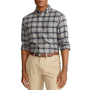 Ralph Lauren Polo Ralph Lauren Classic Fit Button Down Shirt  - Male - Multi - Size: Large