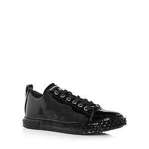 Giuseppe Zanotti Men's Blabber Low Top Sneakers  - Male - Nero - Size: 9US / 42EU
