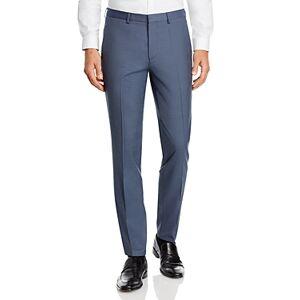 Hugo Boss Hesten Textured Weave Extra Slim Fit Suit Pants  - Male - Dark Gray - Size: 38R