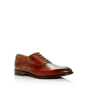 Bruno Magli Men's Dino Leather Plain Toe Oxfords - 100% Exclusive  - Male - Brown - Size: 9
