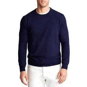 Ralph Lauren Polo Ralph Lauren Washable Cashmere Sweater  - Male - Hunter Navy - Size: 2X-Large